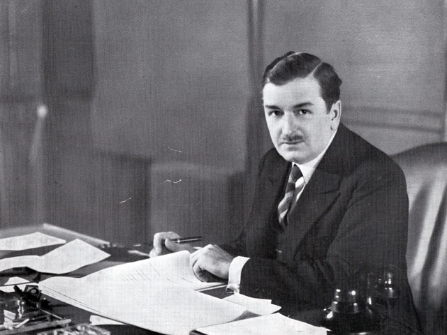 Official photo of Premier Maurice Duplessis during his first term of office in 1936
