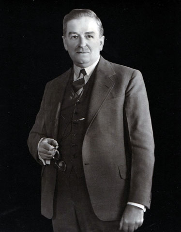 Official photo of Premier Maurice Duplessis after the Second World War