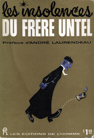 The cover of the book by Jean-Paul Desbiens