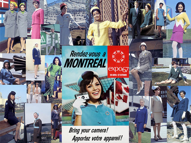 Ad for the Montréal World Fair